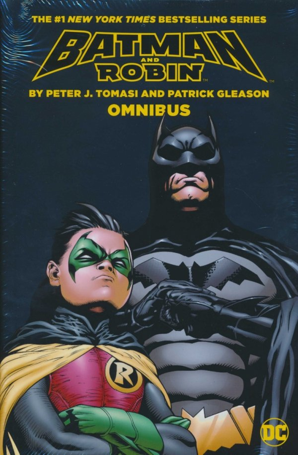 BATMAN AND ROBIN BY PETER J TOMASI AND PATRICK GLEASON OMNIBUS HC (NEW EDITION) (SALEństwo)