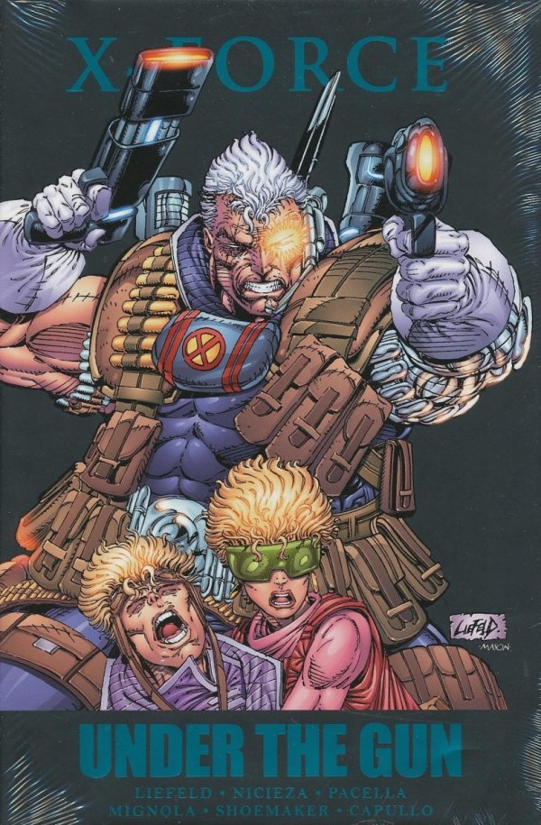 X-FORCE UNDER THE GUN HC (STANDARD COVER)