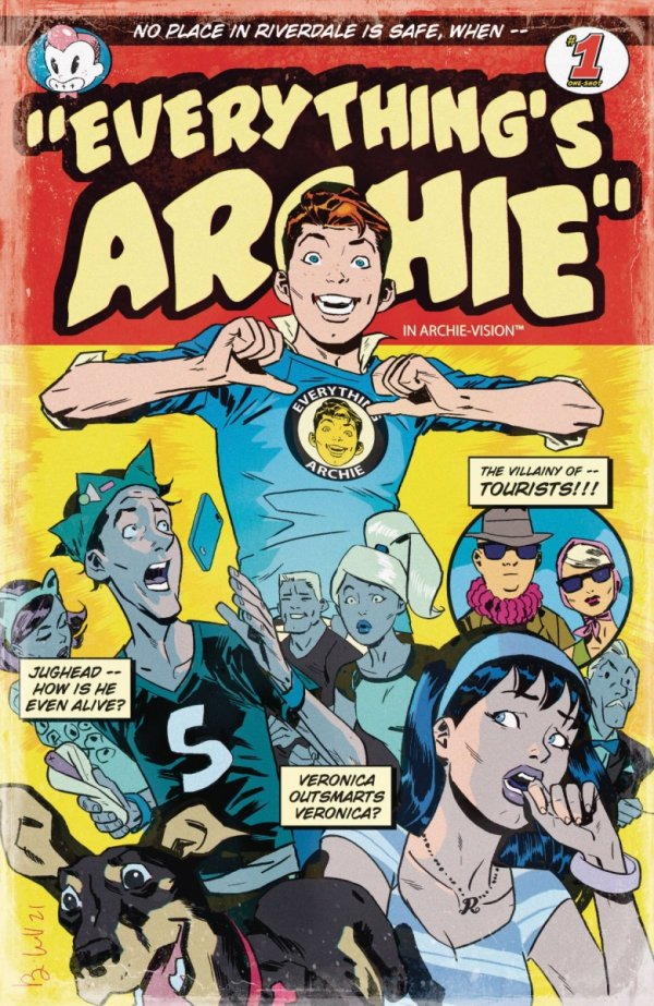 ARCHIE 80TH ANNIV EVERYTHING ARCHIE #1 CVR B BEN CALDWELL