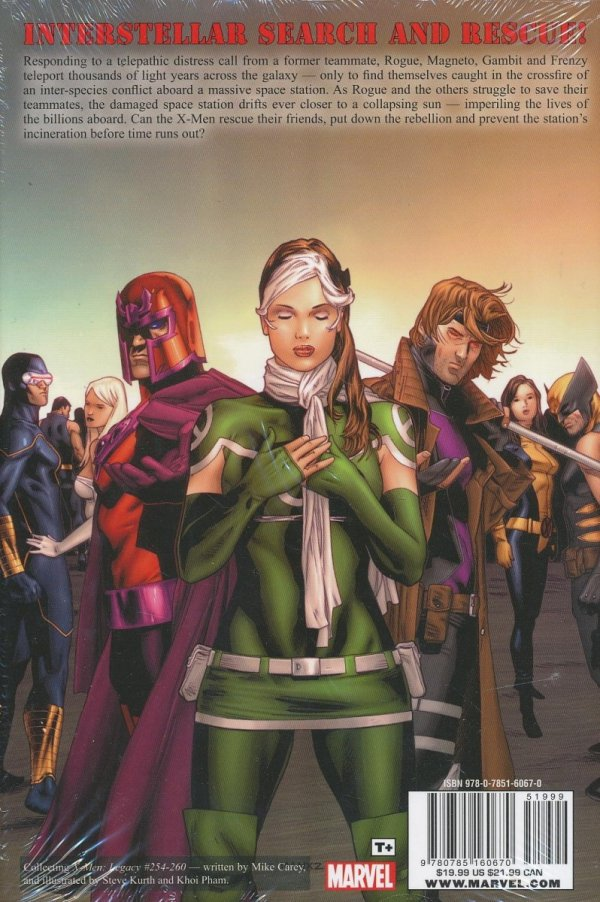 X-MEN LEGACY FIVE MILES SOUTH OF THE UNIVERSE HC