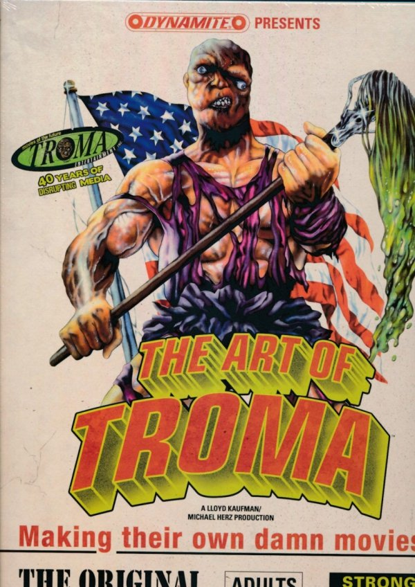 ART OF TROMA HC (BOX)