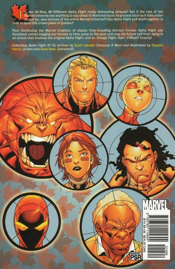 ALPHA FLIGHT VOL 02 WAXING POETIC SC