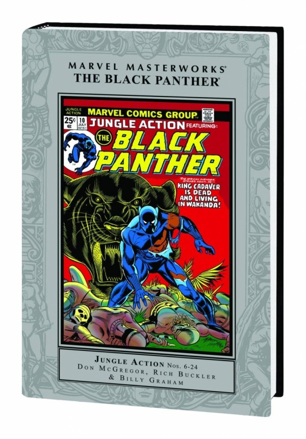 MARVEL MASTERWORKS THE BLACK PANTHER VOL 01 HC (STANDARD COVER) *