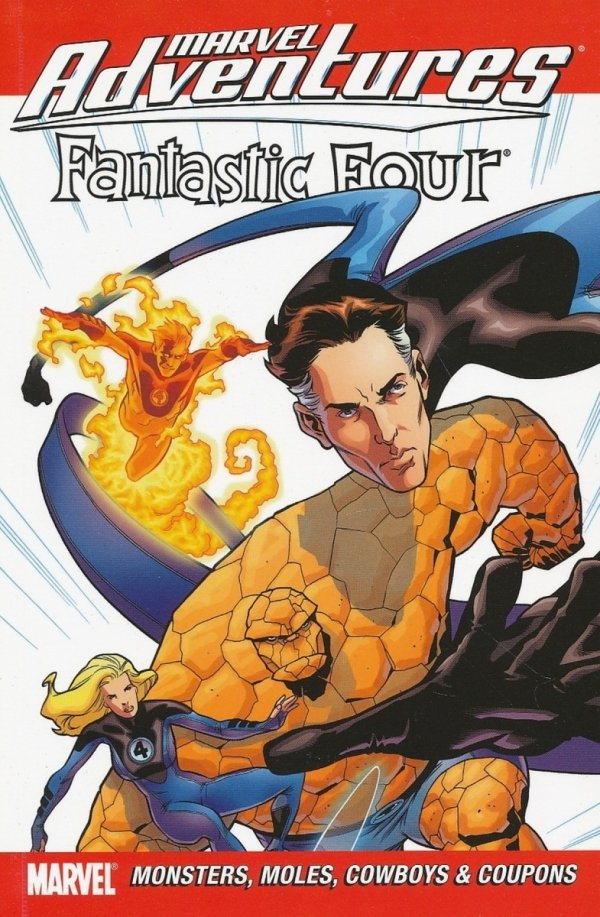 MARVEL ADVENTURES FANTASTIC FOUR VOL 08 SC
