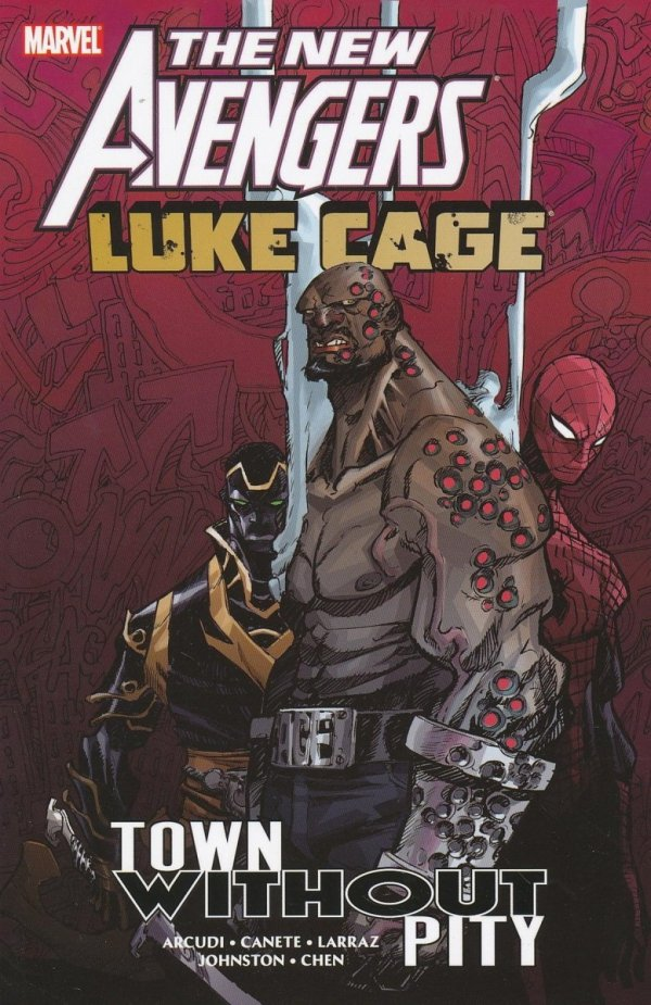 NEW AVENGERS LUKE CAGE TOWN WITHOUT PITY SC