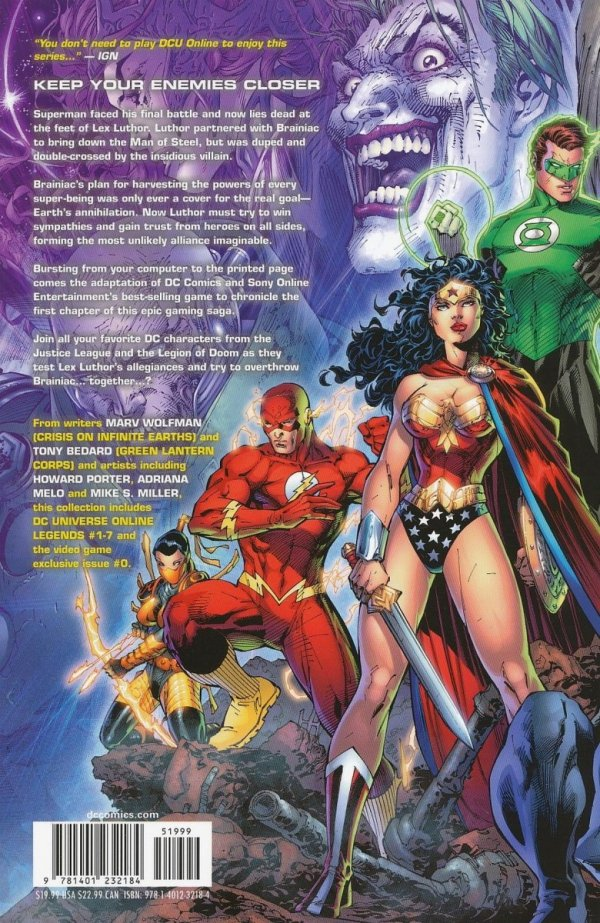 DC UNIVERSE ONLINE LEGENDS VOL 01 SC