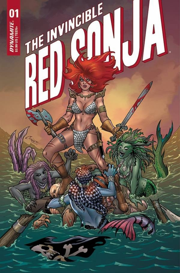 INVINCIBLE RED SONJA #1 CVR A CONNER