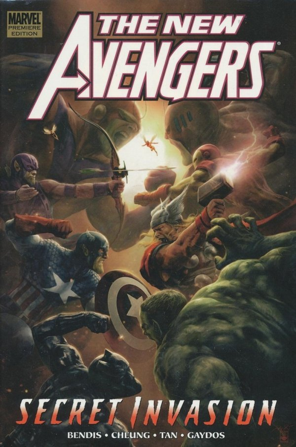 NEW AVENGERS VOL 09 SECRET INVASION BOOK 2 HC