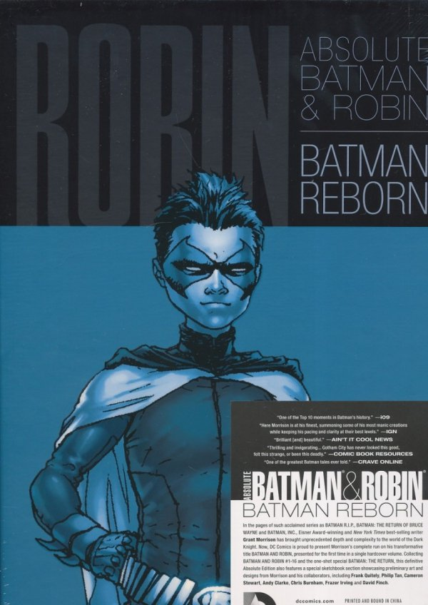 ABSOLUTE BATMAN AND ROBIN BATMAN REBORN HC (BOX)