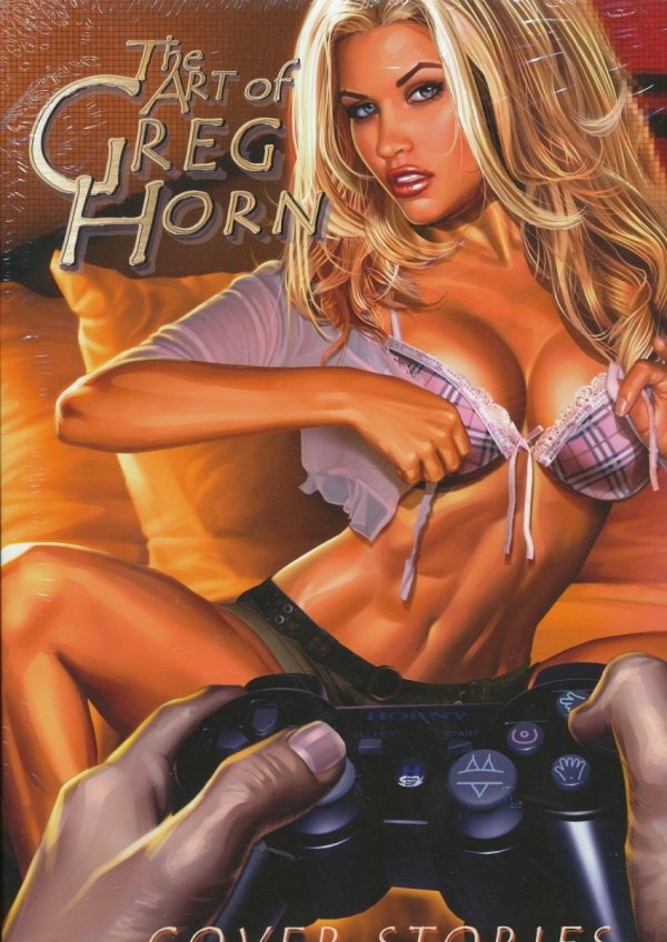 ART OF GREG HORN VOL 02 HC