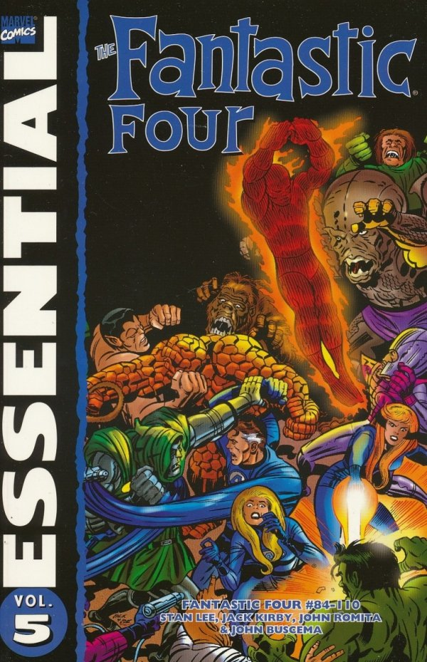 ESSENTIAL THE FANTASTIC FOUR VOL 05 SC (OLD EDITION) *