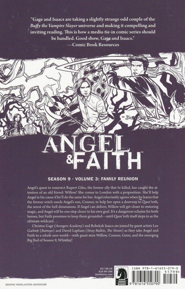 ANGEL AND FAITH VOL 03 FAMILY REUNION SC **