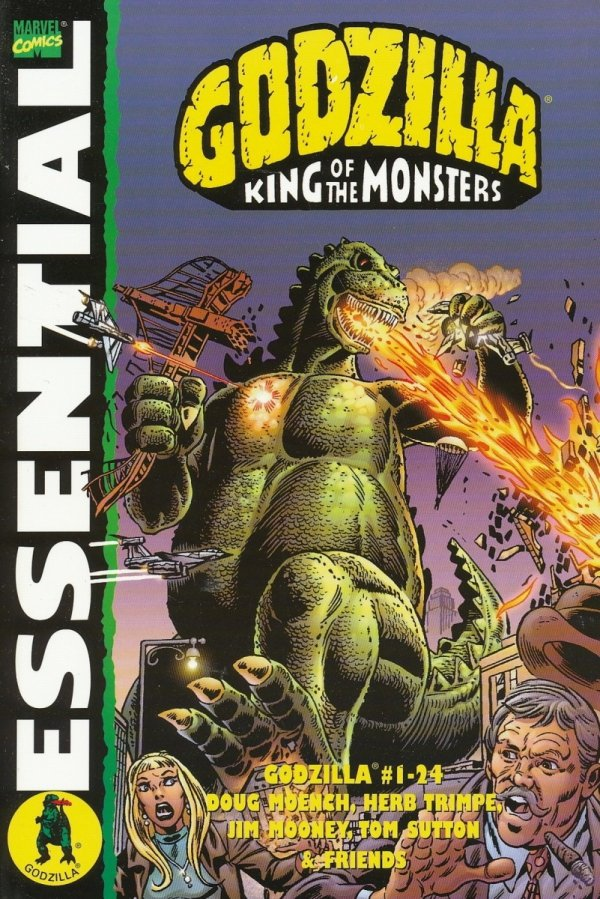 ESSENTIAL GODZILLA KING OF THE MONSTERS SC *