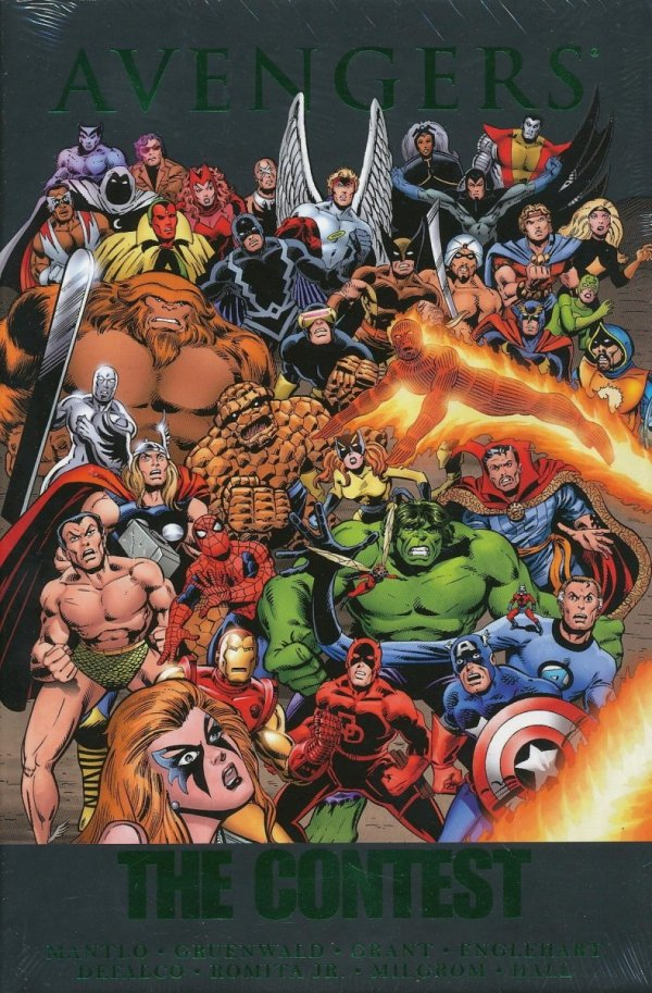 AVENGERS THE CONTEST HC (STANDARD COVER)