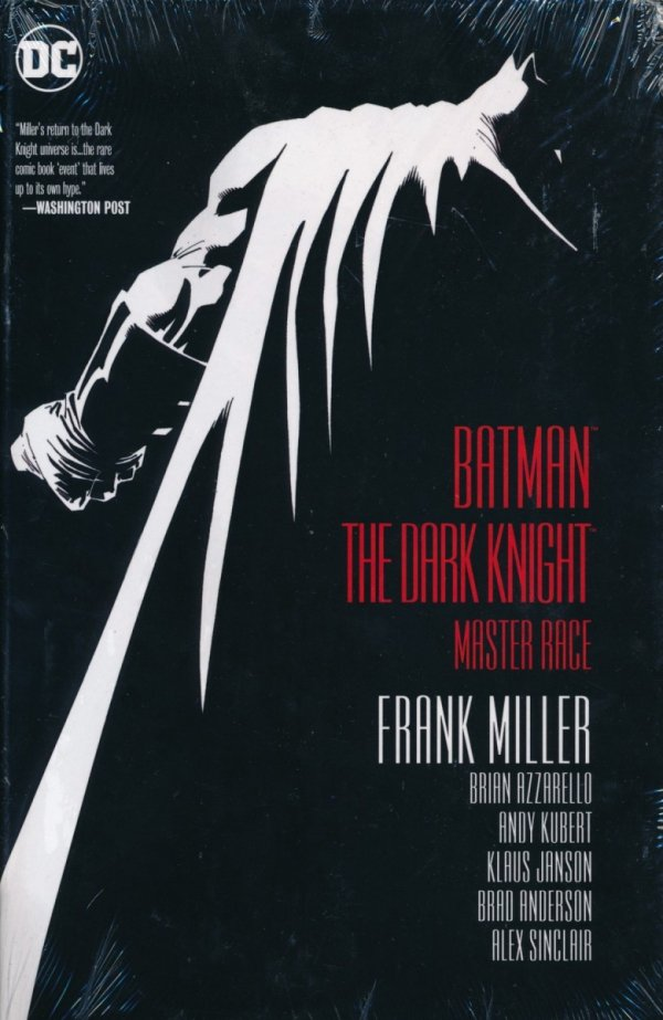BATMAN THE DARK KNIGHT MASTER RACE HC (SUPERCENA)