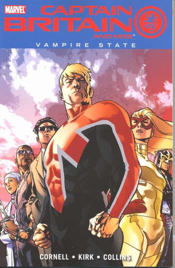 CAPTAIN BRITAIN AND MI13 VOL 03 VAMPIRE STATE SC **
