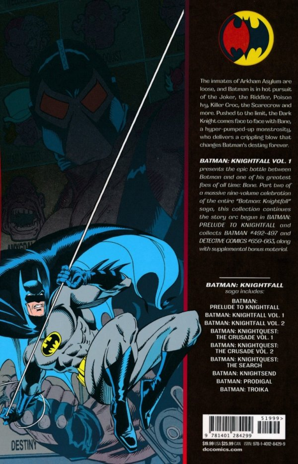 BATMAN KNIGHTFALL VOL 01 SC (NEW EDITION)