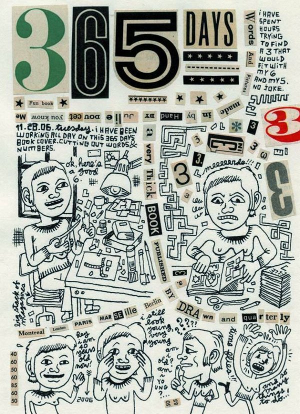 365 DAYS DIARY BY JULIE DOUCET HC **