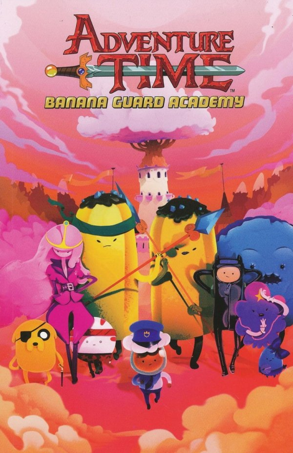 ADVENTURE TIME BANANA GUARD ACADEMY SC
