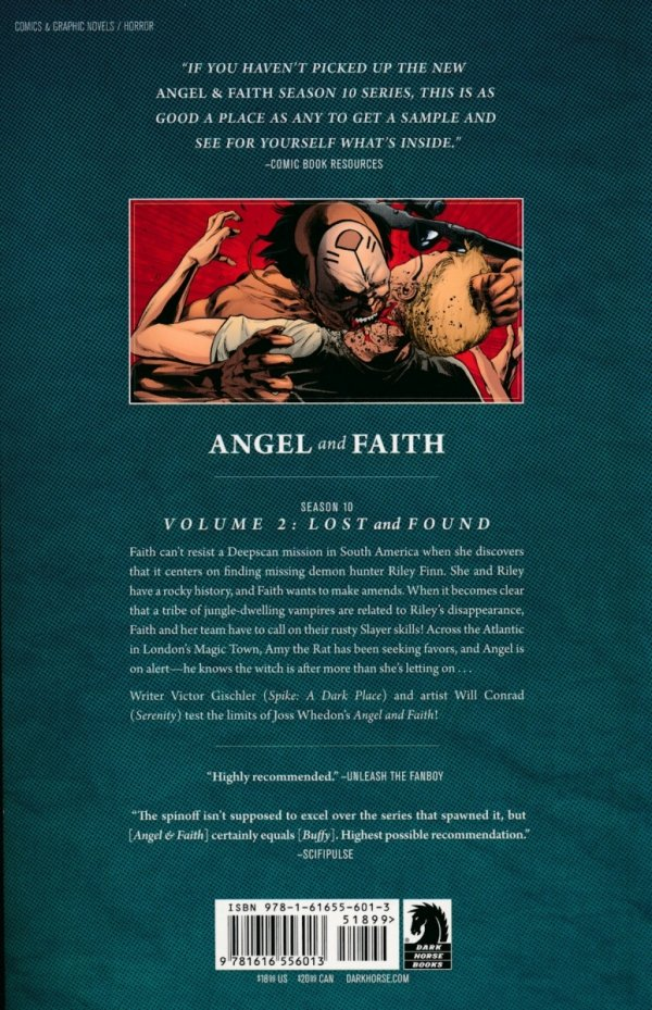 ANGEL AND FAITH VOL 02 LOST AND FOUND SC