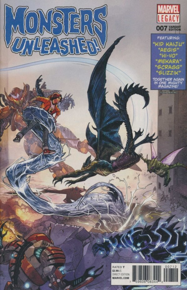 MONSTERS UNLEASHED #7 2ND PTG