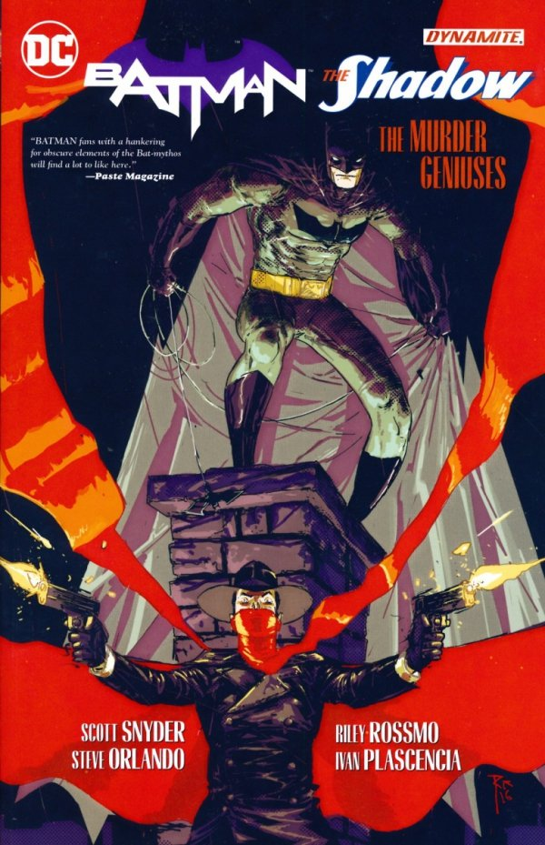 BATMAN THE SHADOW THE MURDER GENIUSES SC