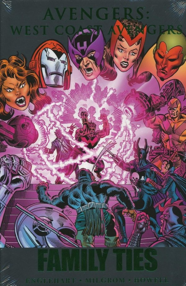 AVENGERS WEST COAST AVENGERS FAMILY TIES HC (STANDARD COVER)