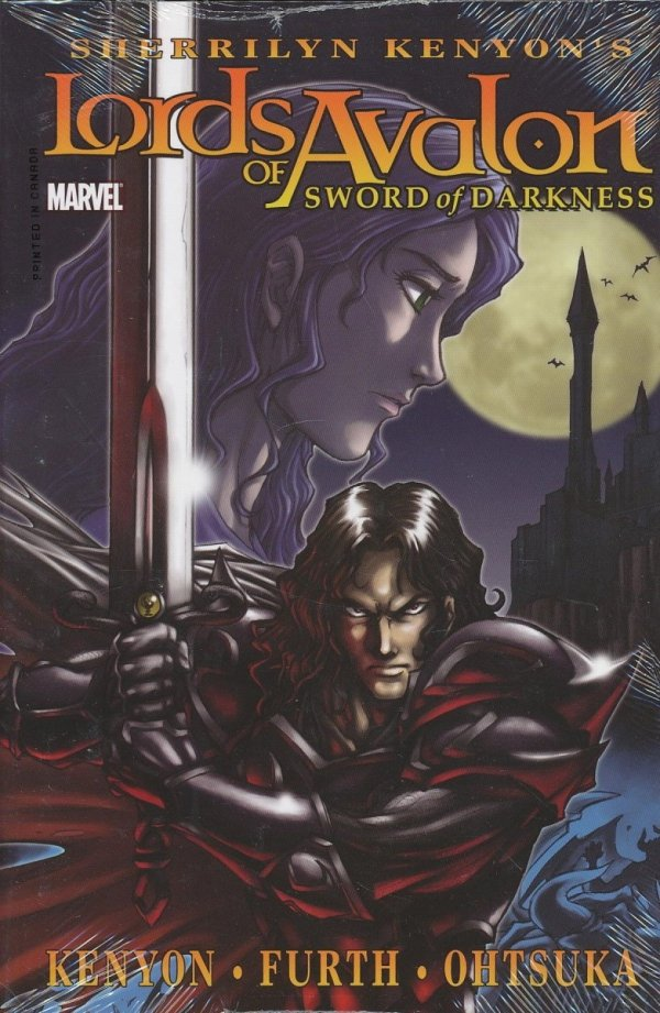 LORDS OF AVALON SWORD OF DARKNESS HC (STANDARD COVER)