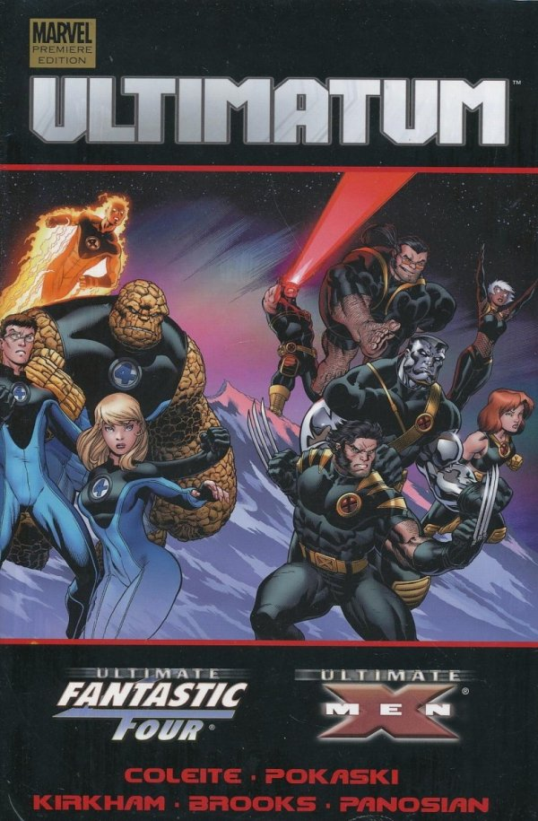 ULTIMATUM X-MEN FANTASTIC FOUR HC