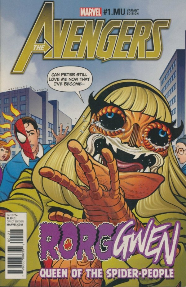 AVENGERS #1.MU MOORE GWENSTER UNLEASHED VAR