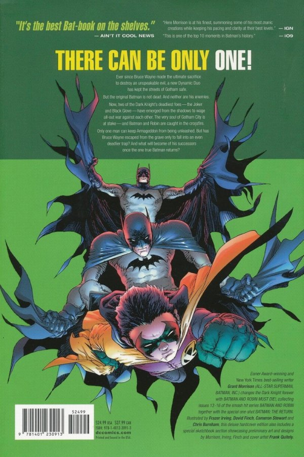BATMAN AND ROBIN BATMAN AND ROBIN MUST DIE HC