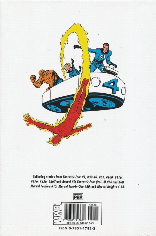 BEST OF THE FANTASTIC FOUR VOL 01 HC