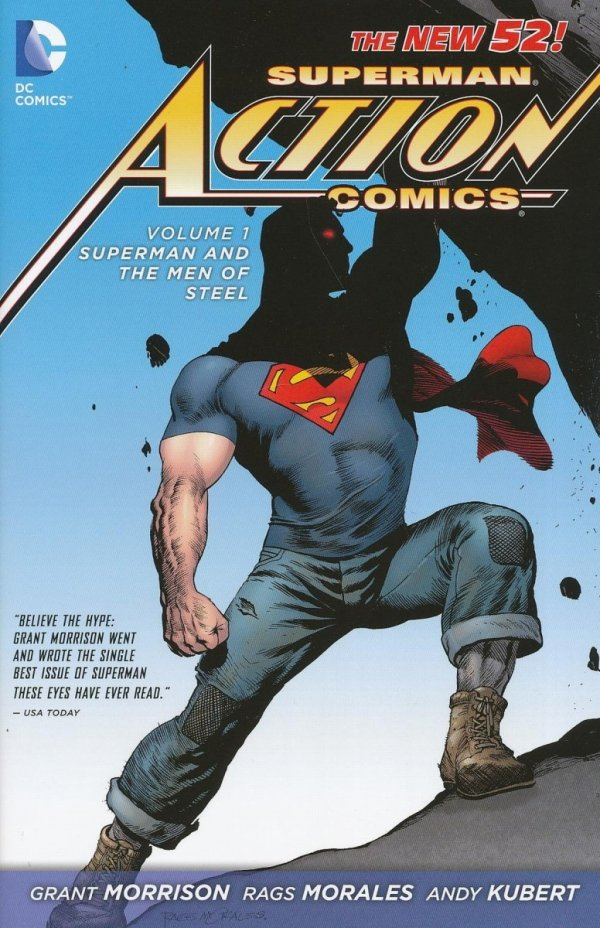SUPERMAN ACTION COMICS VOL 01 SUPERMAN AND THE MEN OF STEEL HC
