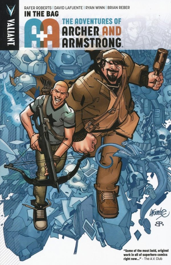 A&A ADV OF ARCHER AND ARMSTRONG TP VOL 01 IN THE BAG