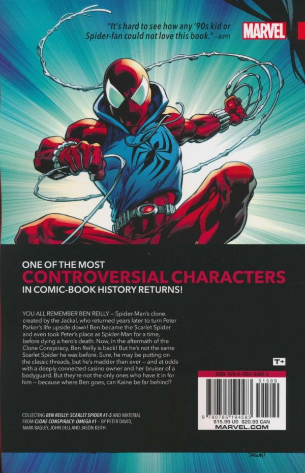 BEN REILLY SCARLET SPIDER VOL 01 BACK IN THE HOOD SC