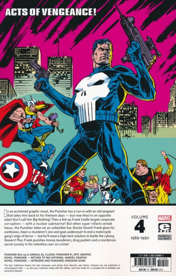 PUNISHER EPIC COLLECTION TP RETURN TO BIG NOTHING