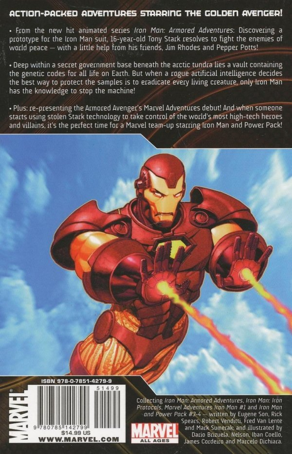IRON MAN TALES OF GOLDEN AVENGER TP GN