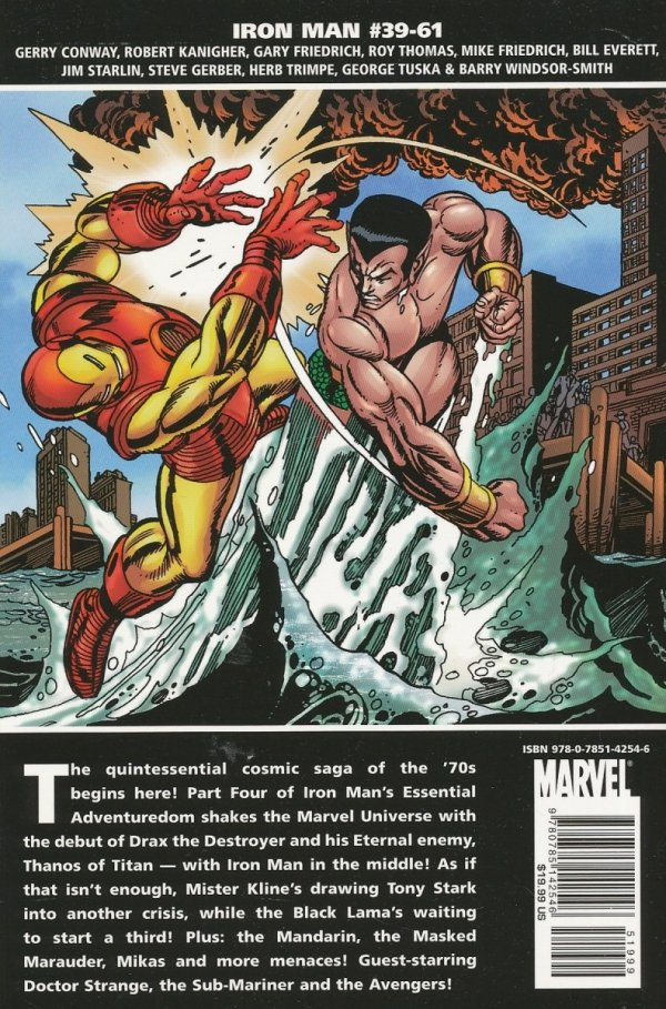 ESSENTIAL IRON MAN VOL 04 SC