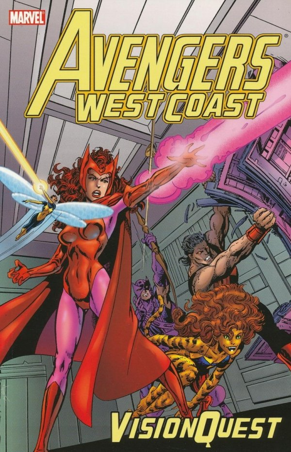 AVENGERS WEST COAST VISION QUEST SC (OLD EDITION) **