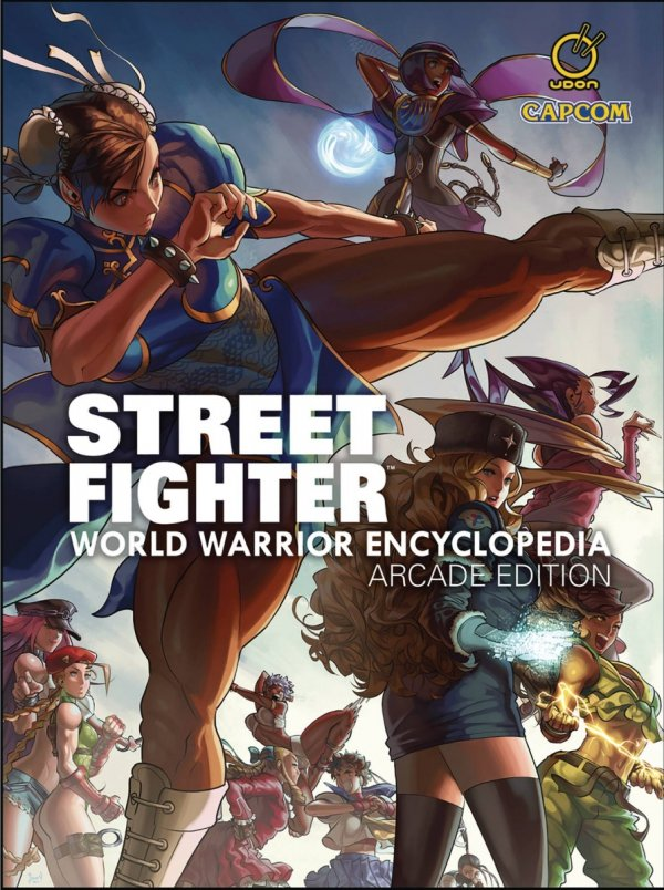 STREET FIGHTER WORLD WARRIOR ENCYCLOPEDIA HC ARCADE EDITION *