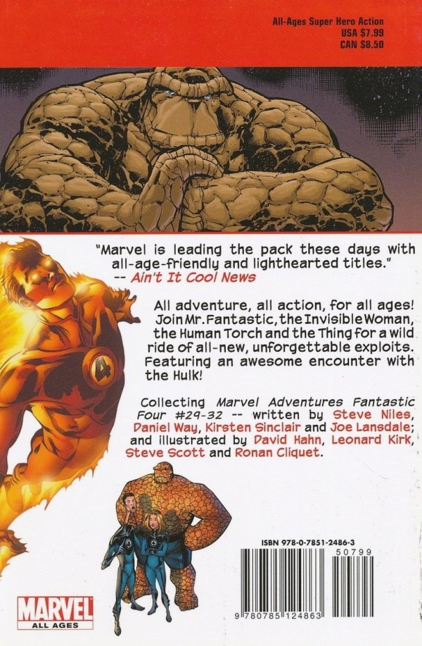 MARVEL ADVENTURES FF TP VOL 08 MONSTERS DIGEST