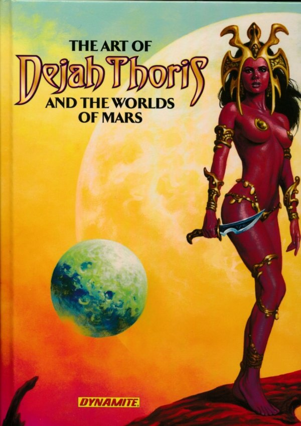 ART OF DEJAH THORIS AND THE WORLDS OF MARS HC *