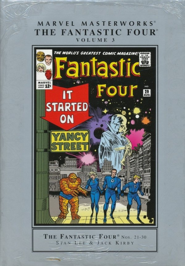 MARVEL MASTERWORKS THE FANTASTIC FOUR VOL 03 HC (STANDARD COVER)