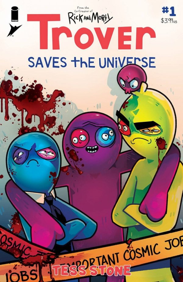 TROVER SAVES THE UNIVERSE #1 CVR A STONE