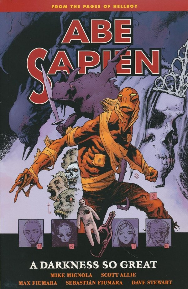 ABE SAPIEN VOL 06 A DARKNESS SO GREAT SC