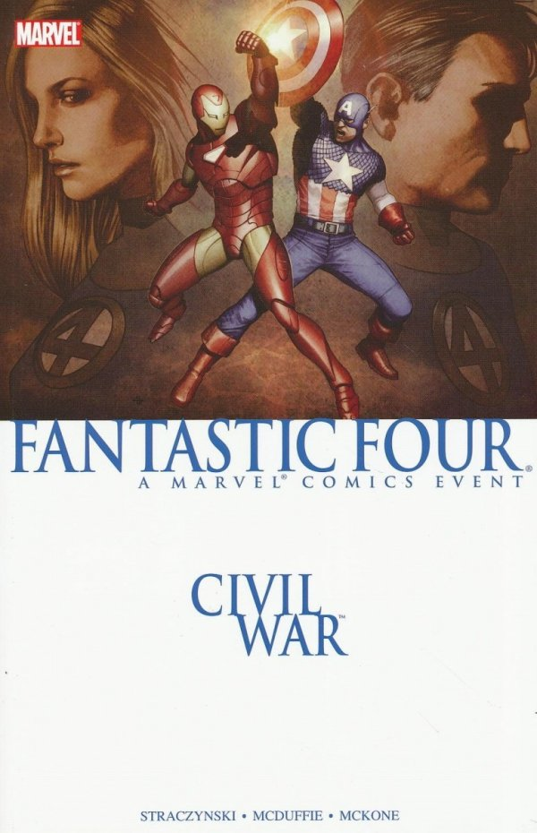 CIVIL WAR FANTASTIC FOUR SC (OLD EDITION) **