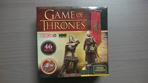 GAME OF THRONES CONST SET HOUSE LANNISTER BANNER BS