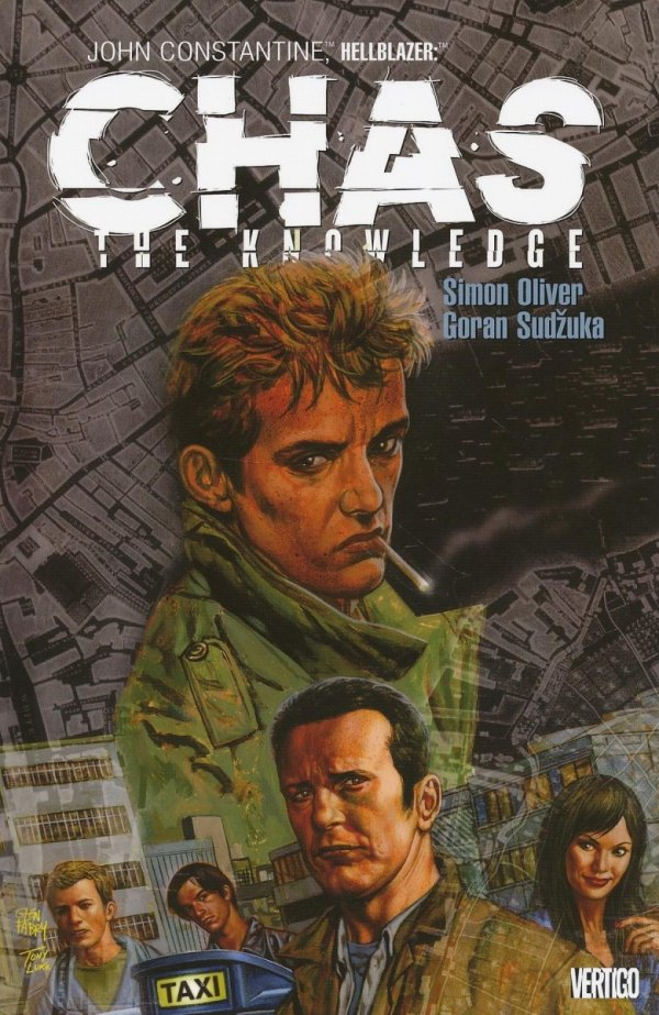 JOHN CONSTANTINE HELLBLAZER CHAS THE KNOWLEDGE SC
