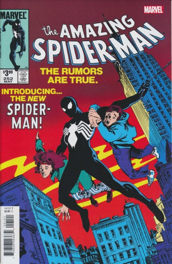 AMAZING SPIDER-MAN #252 FACSIMILE EDITION NEW PTG