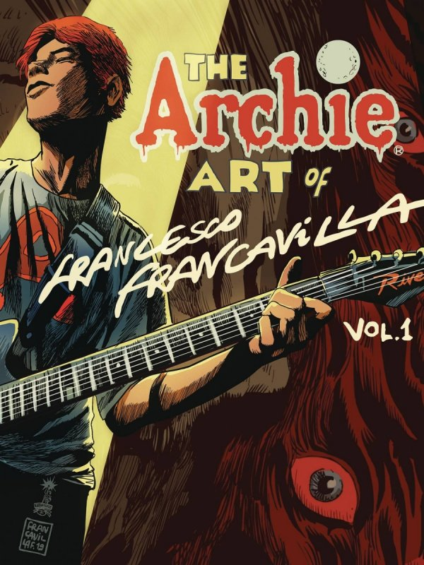 ARCHIE ART OF FRANCESCO FRANCAVILLA HC *